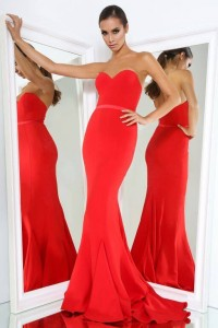 Arianna Gown Red