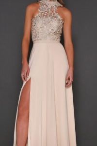 Cary Gown Champagne