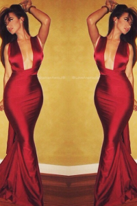 Liliana Gown Red