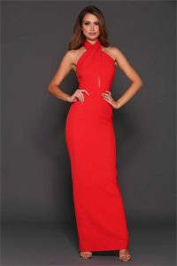 Winona Gown Red - Size 6